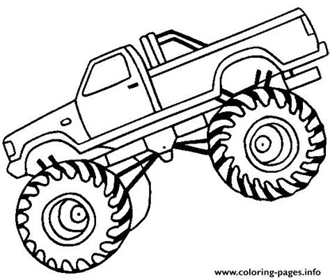Big Coloring Pages by Easy Truck Big Coloring Pages Printable