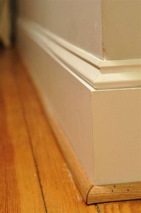 trim baseboard how to replace baseboard trim stairsupplies