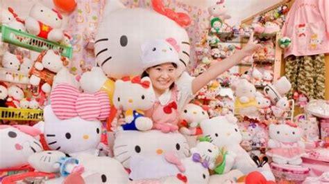 Sun Flower Boneka asako kanda penggemar hello terbesar di dunia