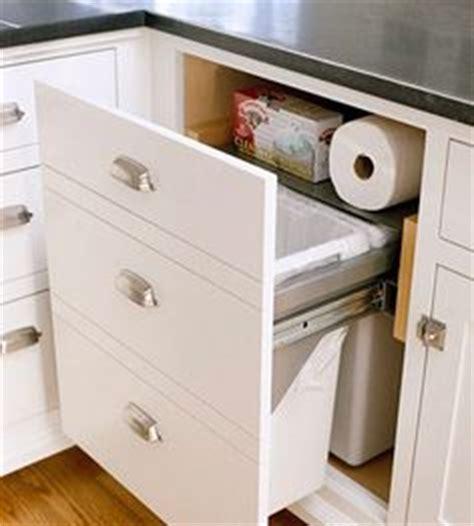 Kitchen Cabinet Trash Drawer by 1000 Images About Kitchen Trash Storage On