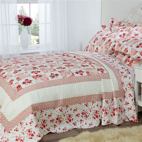 100 Cotton Quilted Bedspreads by Barclay Lille Patchwork 100 Cotton Quilted Bedspread