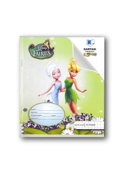 theme line tinkerbell disney tinkerbell exercise book kartasi industries ltd
