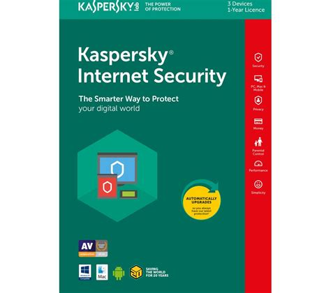 Kaspersky Security 2018 3 User Compatible For Mac kaspersky security 2018 1 year for 3 devices deals pc world