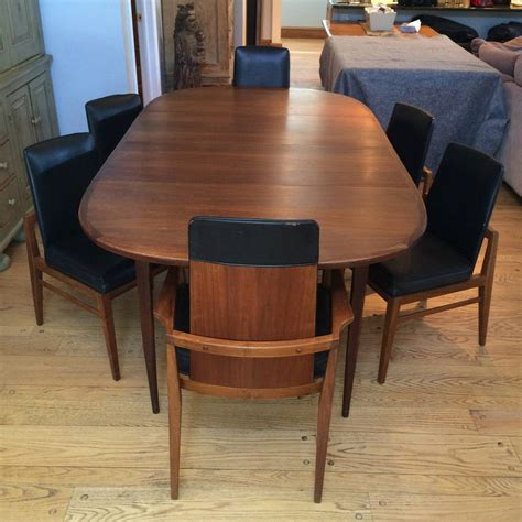 walnut dining room sets mid century modern walnut dining set at 1stdibs
