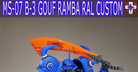 Mg Gouf 20 gundam mg 1 100 gouf 2 0 conversion parts painted