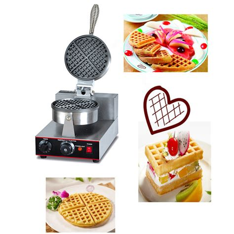 small makers for home commercial non stick plate small hong kong waffle maker in