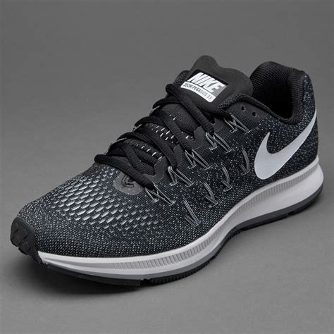 Sepatu White sepatu lari nike womens air zoom pegasus 33 black white