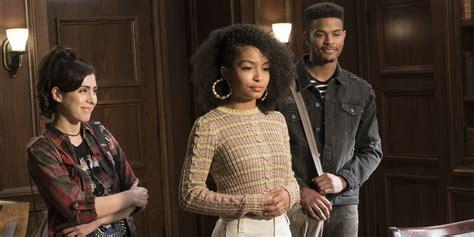 trevor jackson tv shows first look at black ish spinoff with yara shahidi