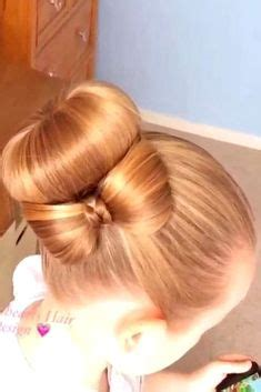 young bridesmaid buns half up hairstyles are ideal for flower girls and other