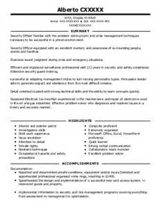 correctional officer sergeant resume exle state of