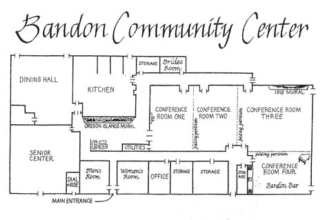 center floor plan community centre floor plans