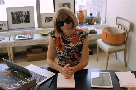 Wintour Dislikes The Word by Take A Peek Inside The Vogue Office As Wintour