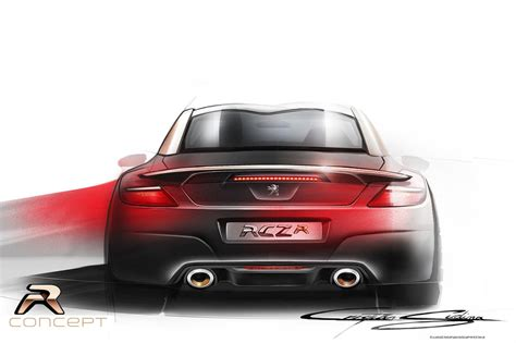 peugeot rcz r modified the 2013 peugeot rcz r the french street fighter