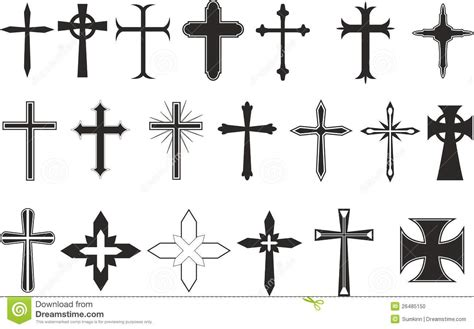 cross symbols stock photo image 26485150