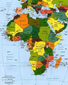 map 4 africa map okeowo
