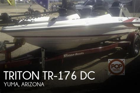 fishing boat rentals yuma az 2006 triton tr 176 dc 17 foot 2006 fishing boat in yuma