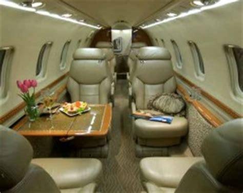 Learjet 25 Interior by Home Aviastra Flight Charter Ltd