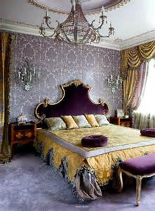 purple and gold bedroom ideas romantic bedroom in amethyst purple and gold color