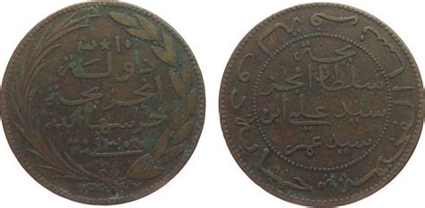 10 centimes 1890 komoren br fackel torche vg 4129