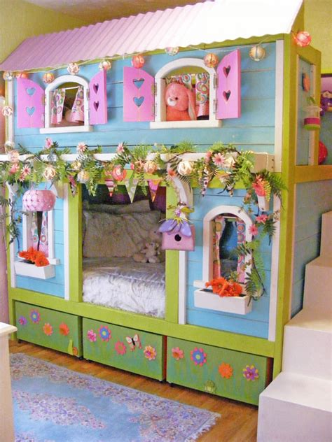 bunk bed house 25 diy bunk beds with plans guide patterns