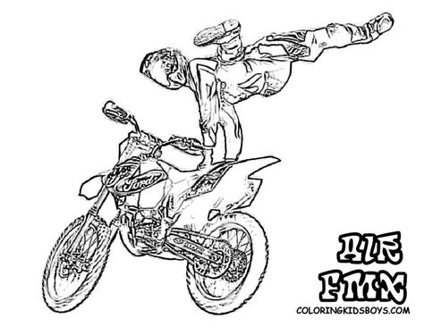Motocross Bikes Coloring Pages Coloring Home Dirt Bike Pictures To Color