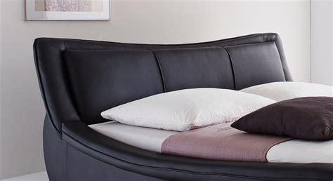 bett 180 breit kunstlederbett aberdeen schwarz breite 160 oder 180
