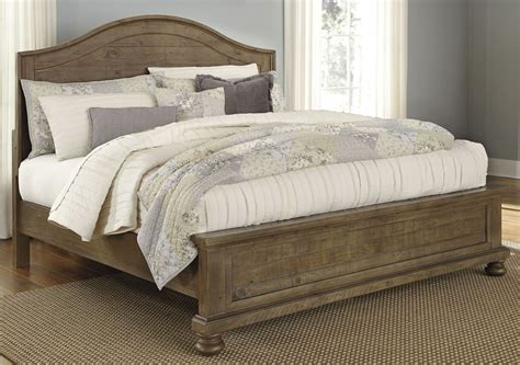 light brown bedroom furniture trishley light brown panel bedroom set from