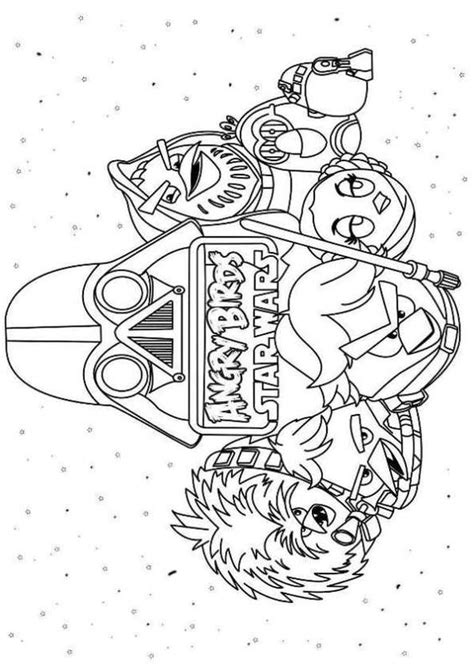 coloring page angry birds star wars this site is awesome