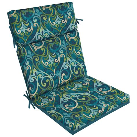 Deck Chair Cushions by Shop Garden Treasures Damask High Back Patio Chair Cushion