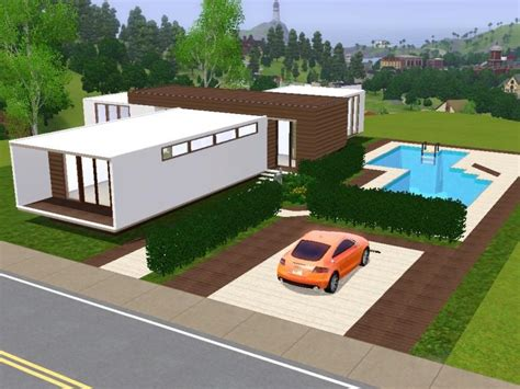 sims 3 house plans my sims 3 modern house house and home design