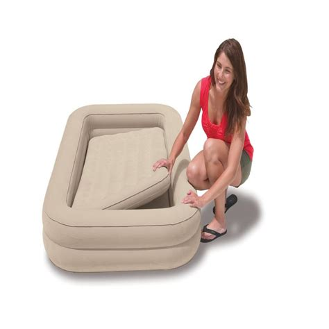 intex baby toddler airbed mattress air bed with ebay