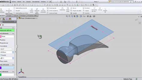 solidworks tutorial help tutorial solidworks martillo recubrimiento y flexionar
