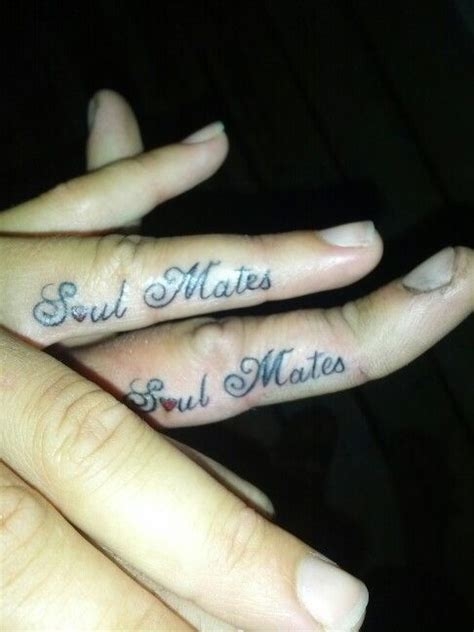 mate tattoos designs soul mates s my style