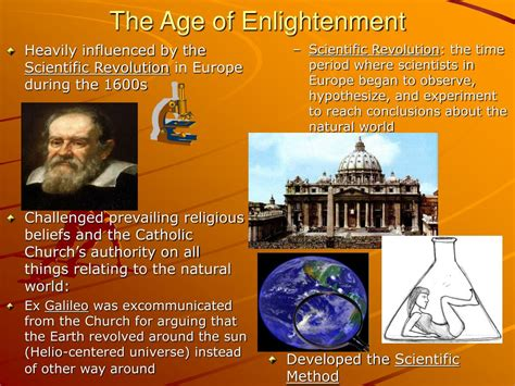 Age Of Enlightenment ppt the age of enlightenment powerpoint presentation