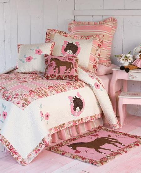 horse bedding for girls bedding with horses on it for girls kids horse theme