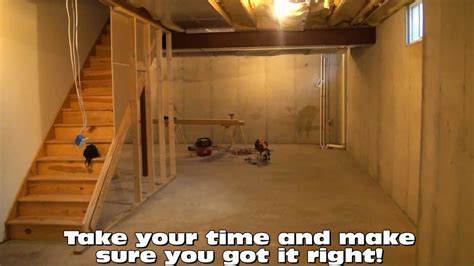 how to out a basement basement framing layout tips