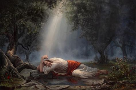 The Agony In The Garden by The Sorrowful Mystery The Agony In The Garden Praying Through The Scriptures