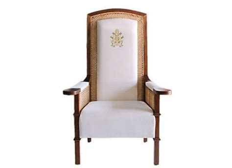 Vatican Chair by Pope Francis Chairs Designed By Lazo Selected By