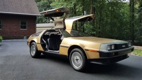 Gold Plated Cars For Sale by Gold Plated Delorean Ebay Motor1 Photos