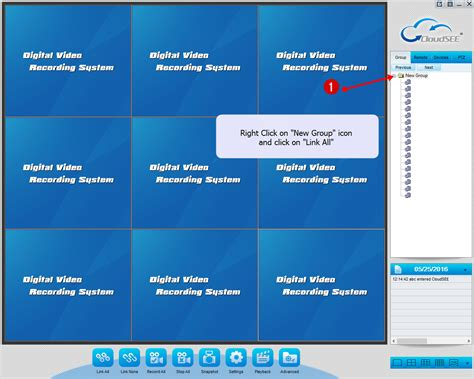 cctv software cloudsee cctv pc cms software settings and user