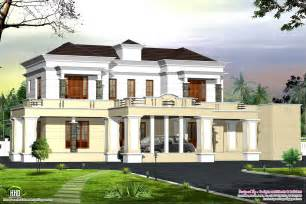 victorian style luxury home design kerala and floor bhk plans