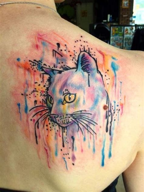 cat tattoo upper leg 41 cute cat tattoos design desiznworld