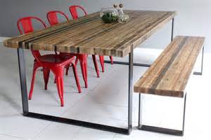 Steel Dining Table And Chairs Furniture Best Design Ideas Of Reclaimed Wood Dining Tables Furniture Wood And Metal Dining