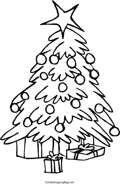 new christmas tree coloring pages free printable christmas tree coloring pages new