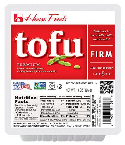 house tofu premium tofu firm 14 oz tofu product house foods