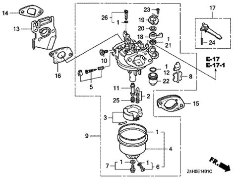 honda gx120 parts diagram honda gx160 carburetor parts diagram 28 images honda
