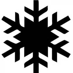 simple snowflake silhouette wall sicker creative multi