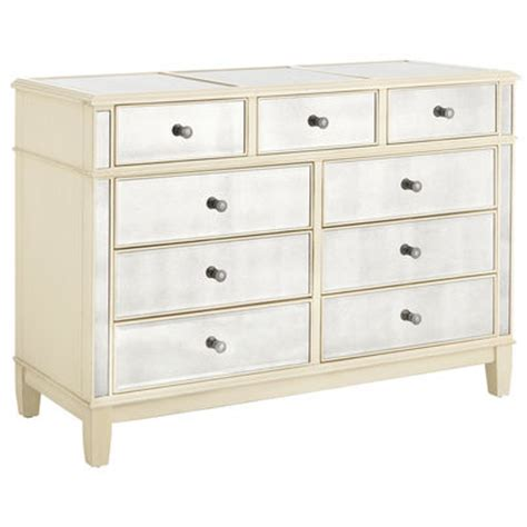 Antique White Dresser With Mirror by Hayworth Mirrored Dresser Antique White Pier 1 Imports