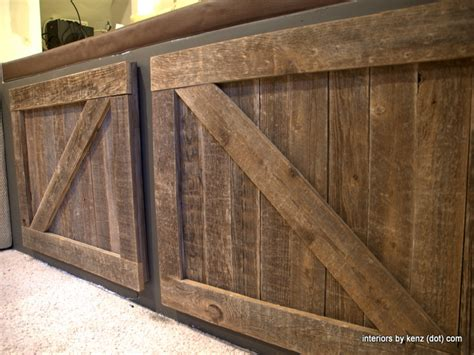 Barn Door Style Kitchen Cabinets by Hanging Barn Doors Diy Barn Door Cabinet Closet Barn