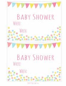 free printable baby shower invitation easy peasy and